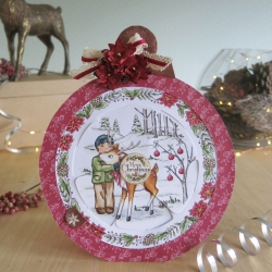 Bauble George and reindeer