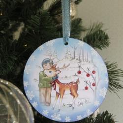 Decoration George Reindeer